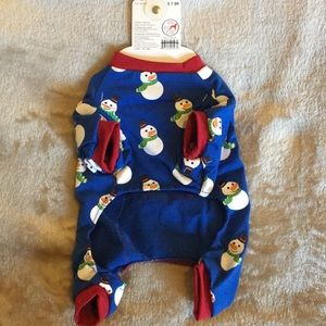 Pet Central Other - Pet Central Snowman PJ for Dogs.